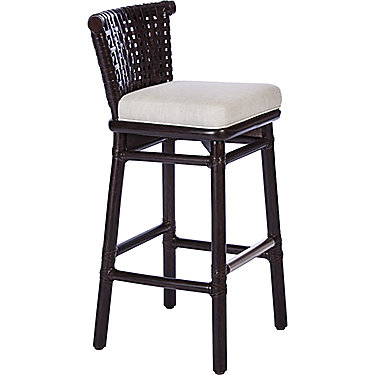 antalya laced rawhide bar stool antalyaa bar stool