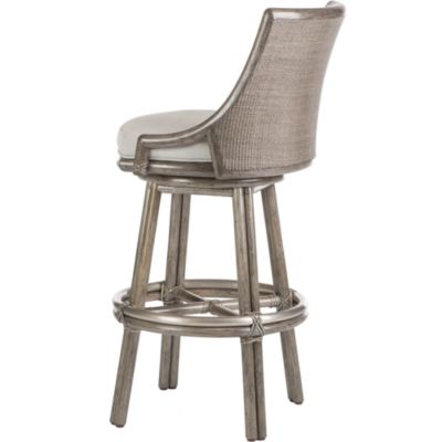 Laura Kirar Passage Swivel Bar Stool  sc 1 st  McGuire Furniture & McGuire Furniture: Laura Kirar Passage Swivel Bar Stool: No. O-424 islam-shia.org