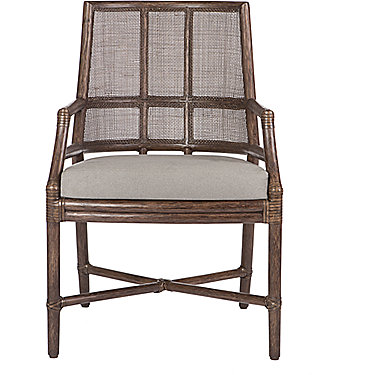 Mcguire Furniture Hayes Dining Arm Chair No M 321