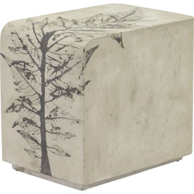 Rectangular Concrete Side Table