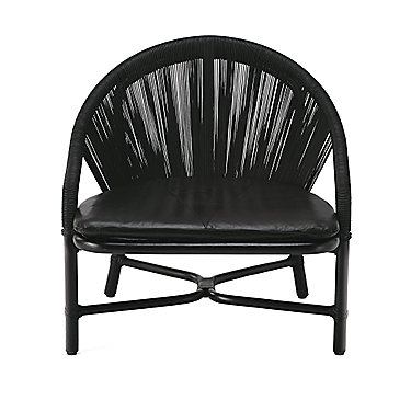 BassamFellows Crescent Lounge Chair