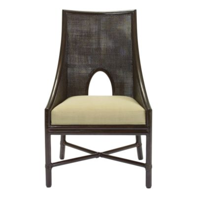 Barbara Barry Caned Arm Chair
