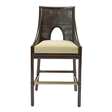 Barbara Barry Caned Bar Stool
