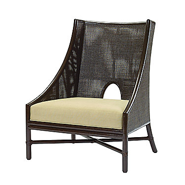 Barbara Barry Caned Lounge Chair
