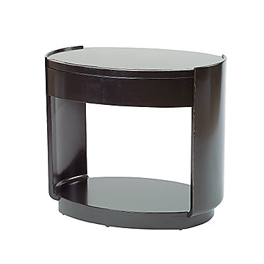Barbara Barry Oval Bedside/<wbr/>End Table