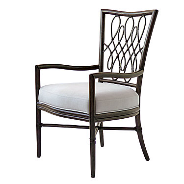 Barbara Barry Script Arm Chair