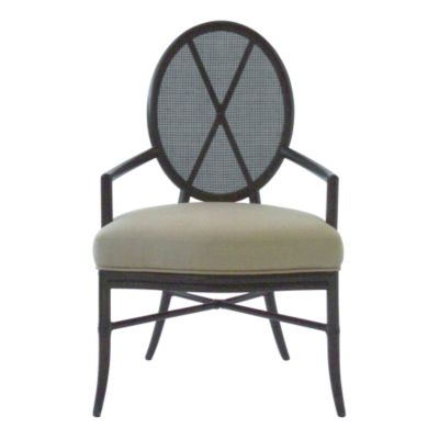 Barbara Barry Oval X Back Chair