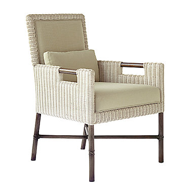 Thomas Pheasant Woven Core Dining Arm Chair