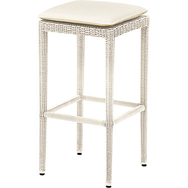 Jacques Garcia Outdoor Backless Bar Stool