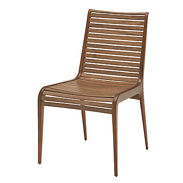 Slatted Walnut Chair