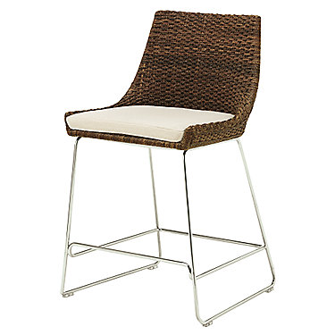 Woven Shelter Counter Stool