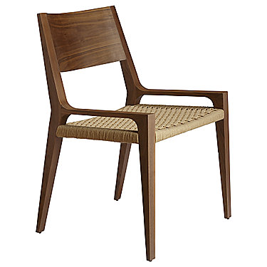Seido Walnut Arm Chair