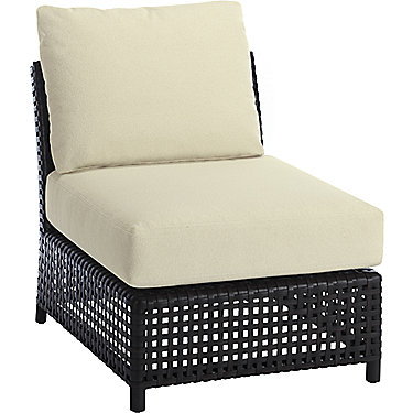 Antalya Outdoor Sectional Slipper Chair