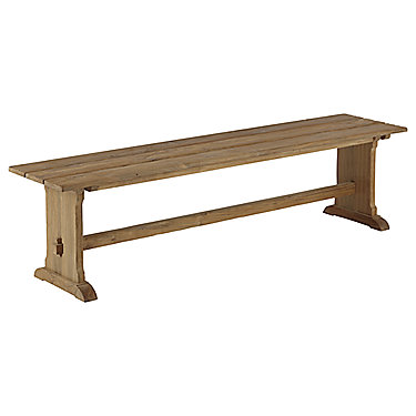 Reclaimed Teak Farmhouse Bench