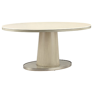 Barbara Barry Classic Oval Pedestal Table Base