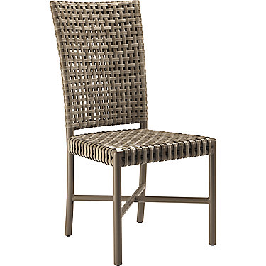 Antalya Outdoor Tall Back Side Chair