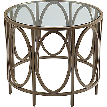 Bowmont Outdoor Bracelet Side Table