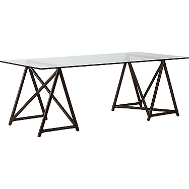 Hawkins Sawhorse Table