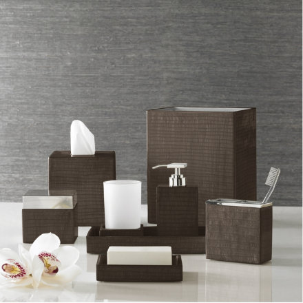 Luxury bath accessories kassatex - Modern bathroom accessories sets ...