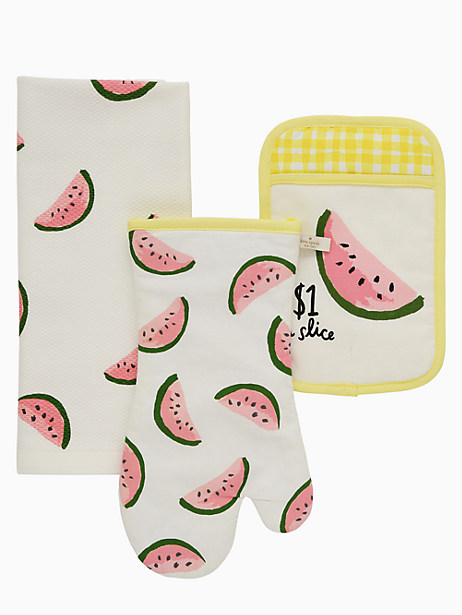 Kate Spade Watermelons Set Of 3, Yellow