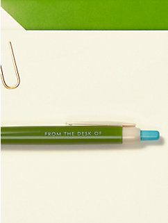From the Desk of Pen & Notecard Set by kate spade new york