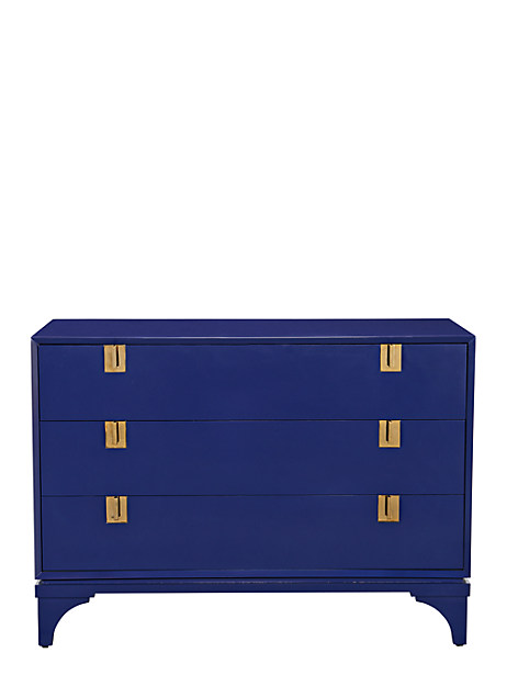 Kate Spade Downing Chest, French Navy
