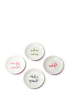 Salut! Melamine Tidbits Set by kate spade new york