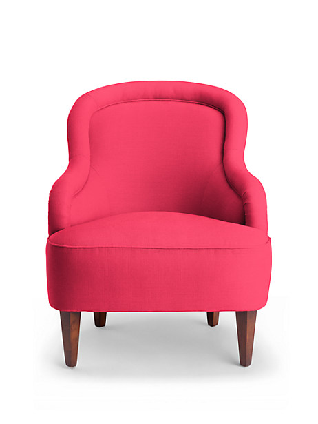 Kate Spade Drake Slipper Chair, Azalea