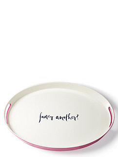 Salut! Melamine Serving Tray by kate spade new york