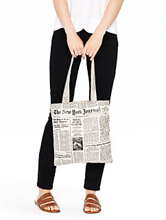 make headlines canvas bag by kate spade new york