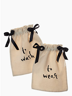 Wash & Wear Lingerie Bag Set by kate spade new york