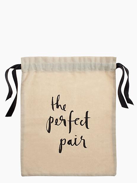 Kate Spade The Perfect Pair Shoe Bag, Natural