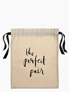 the perfect pair shoe bag by kate spade new york