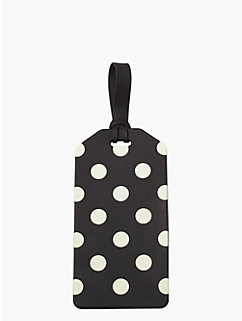 le pavillion luggage tag by kate spade new york