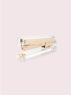 strike gold stapler by kate spade new york