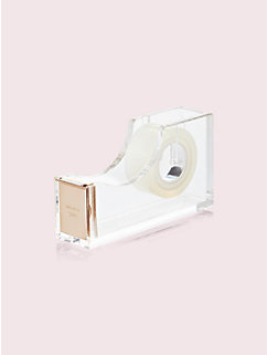 strike gold tape dispenser by kate spade new york