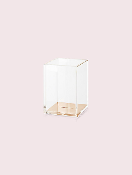 Kate Spade Strike Gold Pencil Cup, Gold