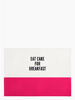 FOOD FOR THOUGHT PLACEMAT by kate spade new york
