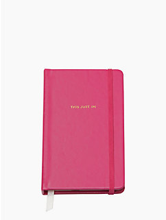 Take Note this just in Medium Notebook by kate spade new york