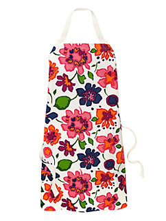 festive floral apron by kate spade new york