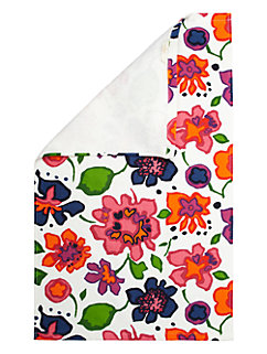 festive floral kitchen towel by kate spade new york
