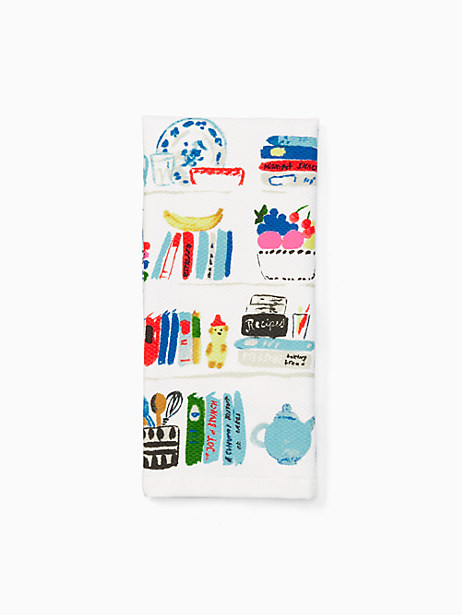 Kate Spade Cookbook Kitchen Towel