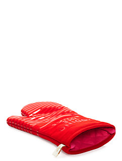 diner stripe oven mitt by kate spade new york