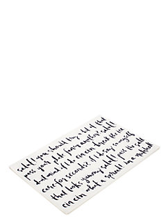 small talk placemat by kate spade new york