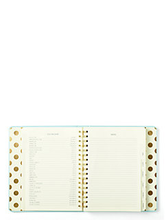 2016 17-month large agenda- quick & curious by kate spade new york