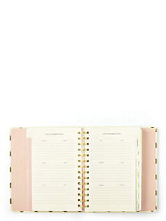 2016 17-month medium agenda- Gold Dots by kate spade new york