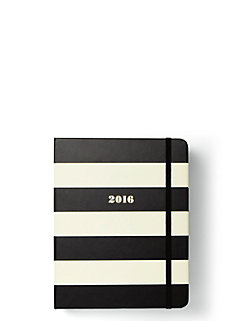 2016 17-month medium agenda- Black stripe by kate spade new york
