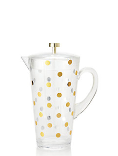 Raise a Glass Acrylic Water Pitcher by kate spade new york