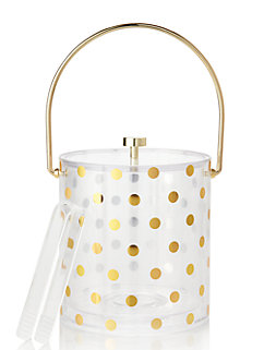 Raise a Glass Acrylic Ice Bucket by kate spade new york