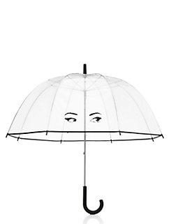 winking eyes umbrella by kate spade new york
